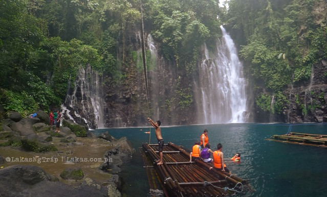 Tinago Falls in Iligan City, Philippines