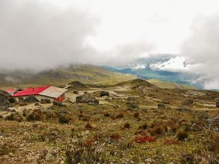 The Pichincha Hut and View
