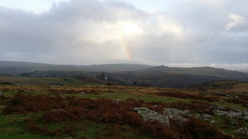 Rainbow and Vixen Tor #dartmoor #sh