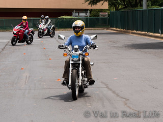 motorcycle safety foundation - val in real life