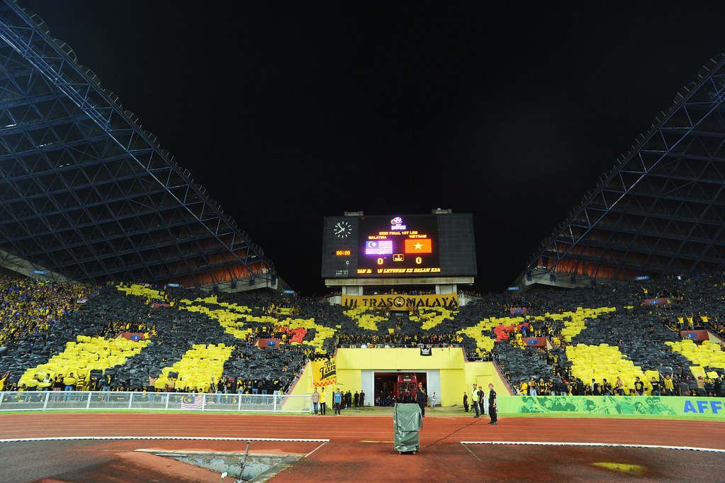 TIFO by Ultras Malaya