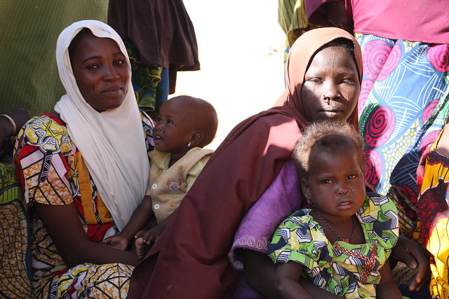 Nigerian refugees in Gagamari camp, Diffa region, Niger