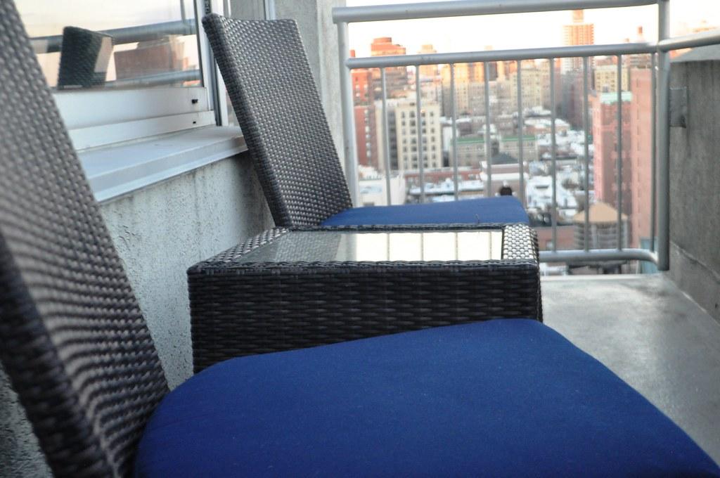 Patio of My New York Hotel - NYLO