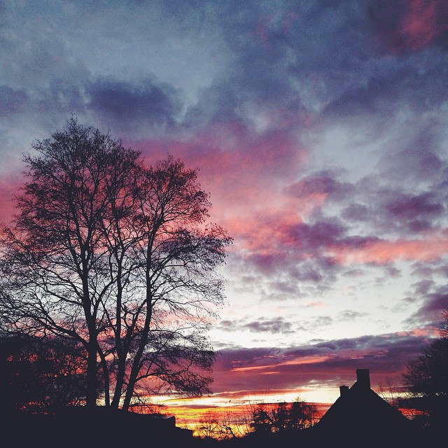 that sky.
