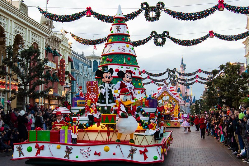 Disneyland Paris Christmas Celebration Parade