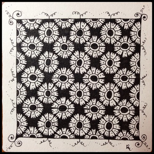 Zentangle 78 - Option 3