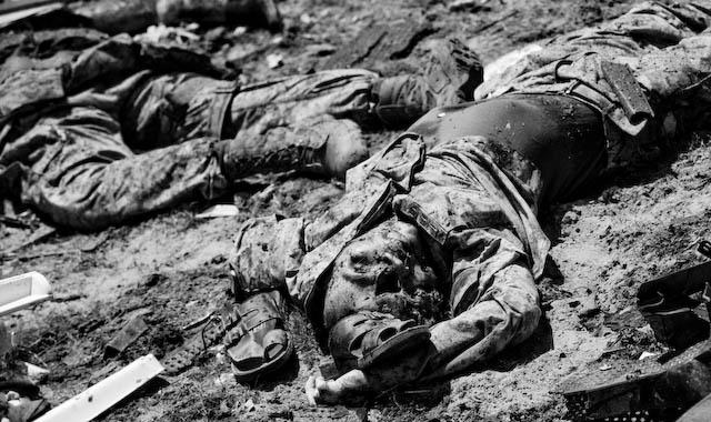 Iraqi war dead---Fallujah