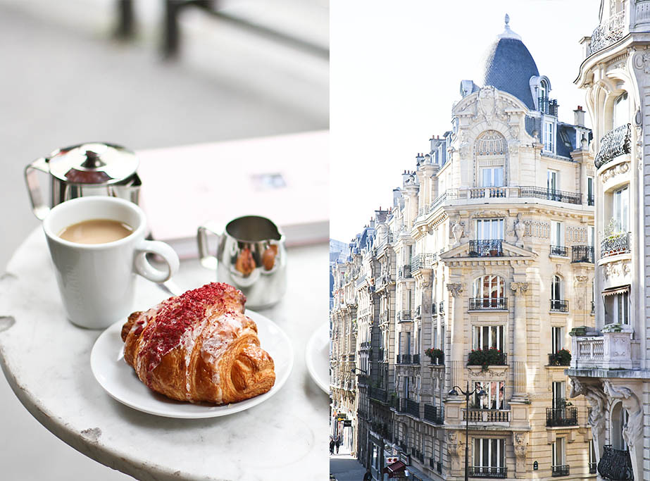 Architecture & Ispahan croissant