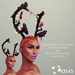 .O A S I S. Christmas Reindeer Decorating & No Decor N E W ! ! Resizer - Unisex - Demo Available Sold @ ROOM69-Starts 1st until 20th!