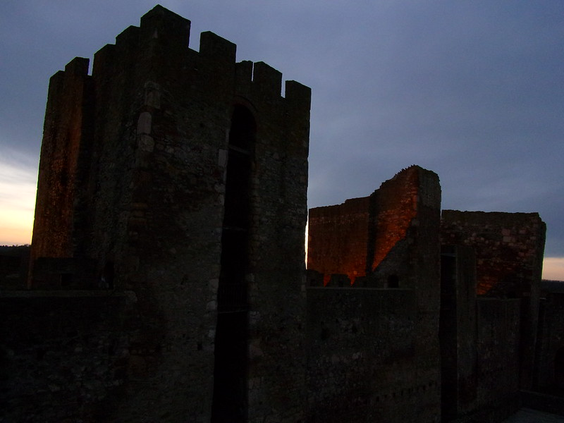 Three main towers, inner fortress