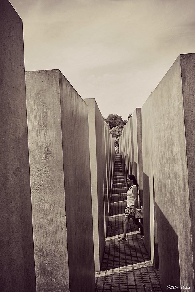 Around Berlin (6) Memorial conmemorativo a los Judíos Asesinados de Europa