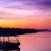 dunav: Sunrise on Danube in Belgrade