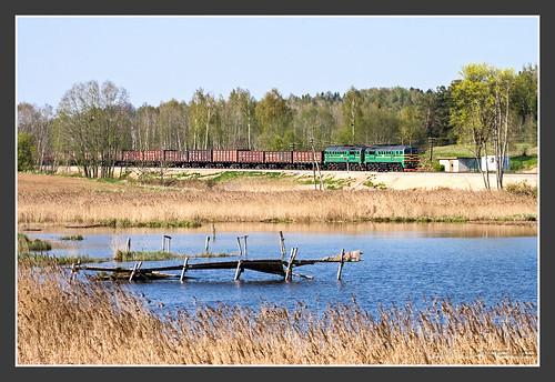 railroad rail railway latvia treno sergey trein spoorwegen m62 gagarin lettland latvija vlak 2m62 поезд railroadphotography ldz latvijasdzelzceļš jaunmokas fototourausland