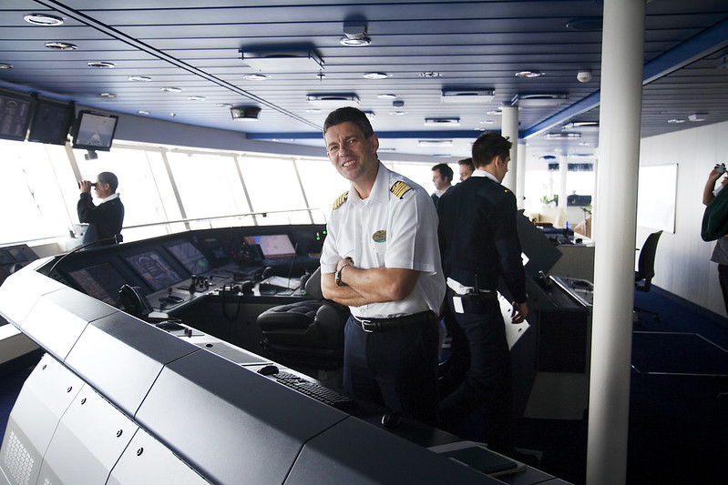 Quantum of the Seas - Captain Ban