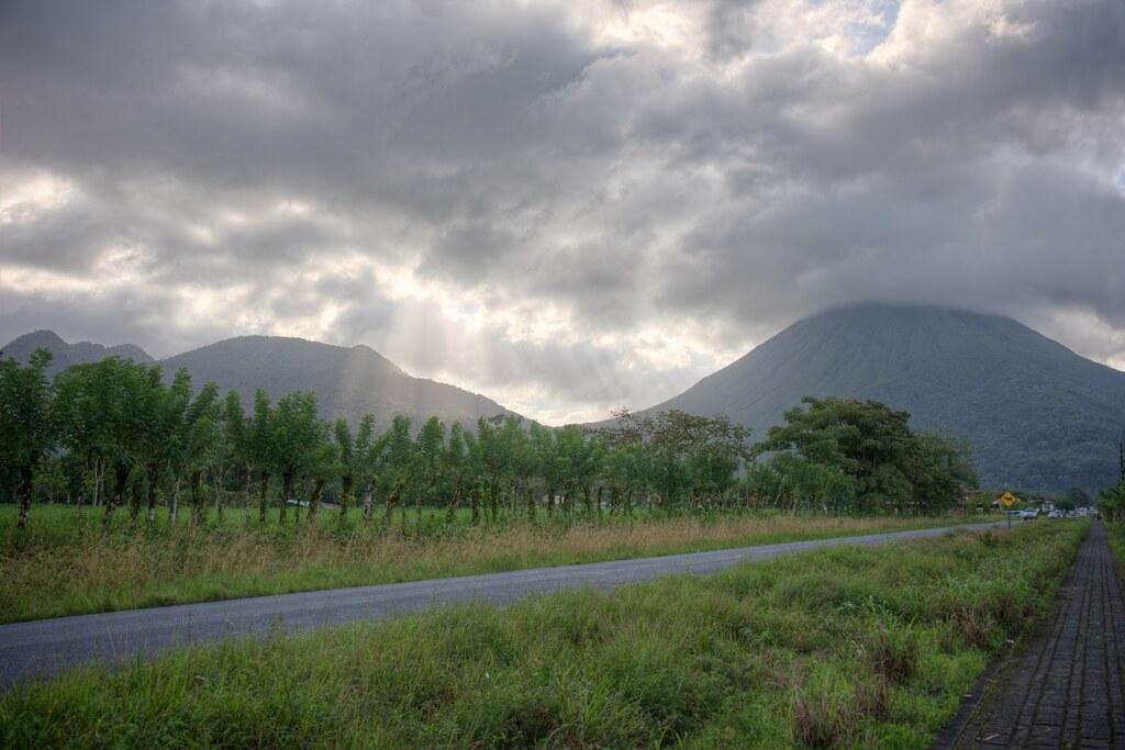 Sleeping Indian & Arenal Volcano