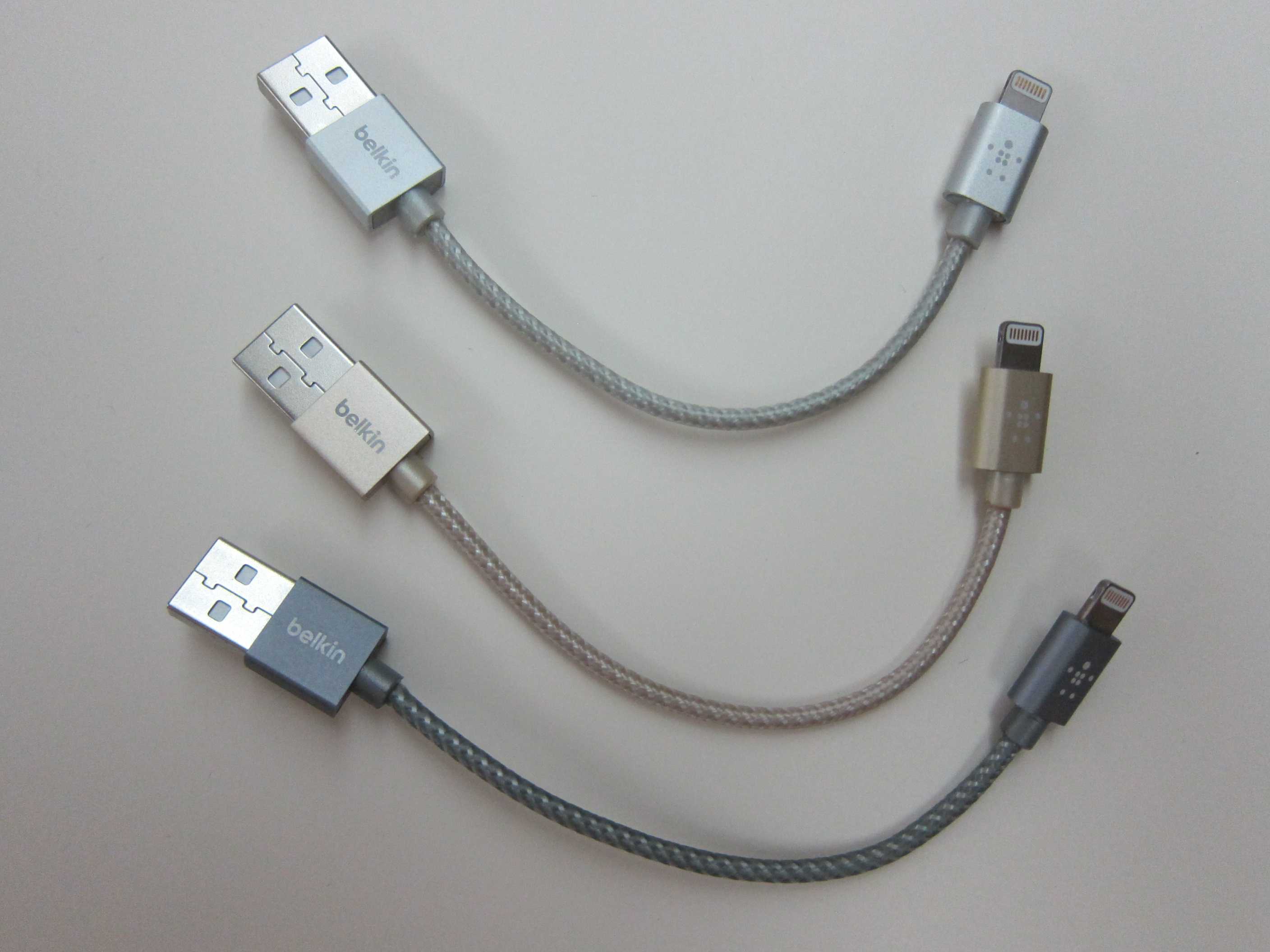 Belkin 6″ MIXIT Metallic Lightning to USB ChargeSync Cable « Blog ...