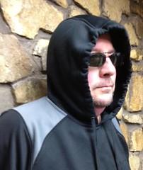 DocHoc in a hoodie