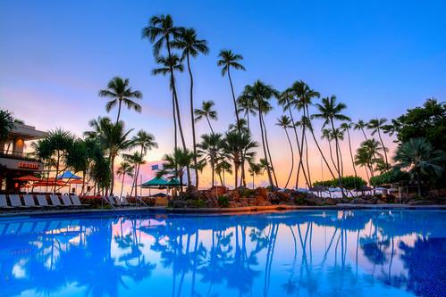 sunset sunrise nikon waikiki clear honolulu waikikibeach nikondigital tropics 2014 hiltonhawaiianvillage sunrisehawaii hawaiiansunrise oahusunrise superpool 1685mmf3556gedvr hiltonwaikiki bbqmonster nikond5200 tfburgess toddfburgess hawaii2014 copyrightc2014toddfburgessallrightsreserved d52dsc505567tm12