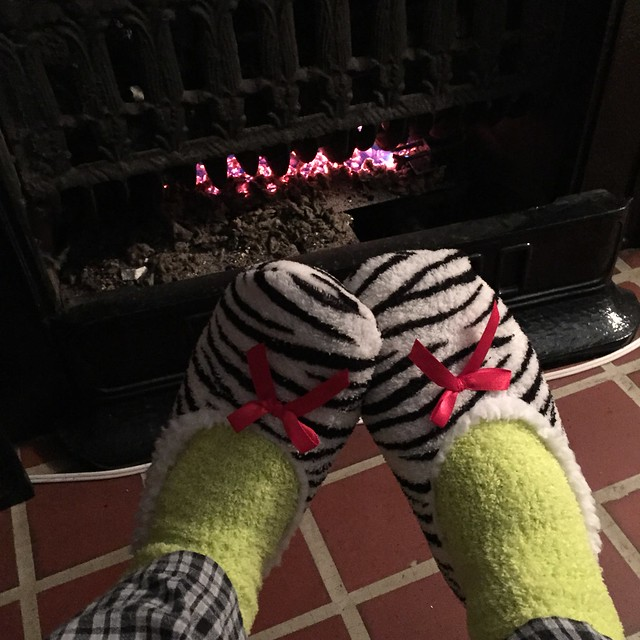 cozy slippers/socks from Nate/holly