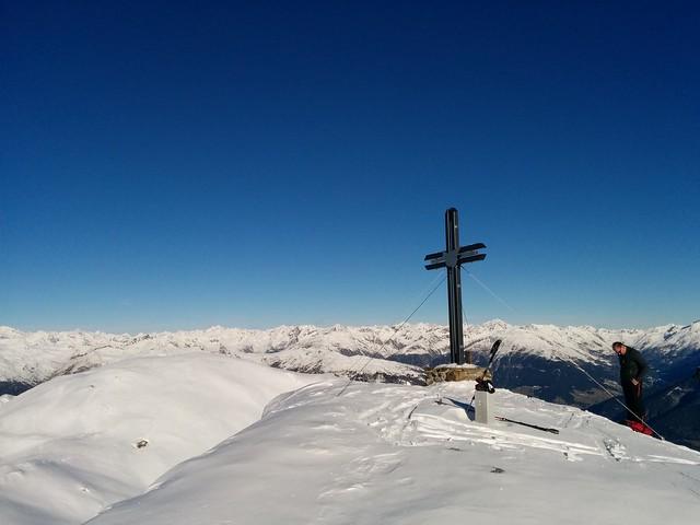 Gipfelkreuz Hornisch-Eck, 2.552 m