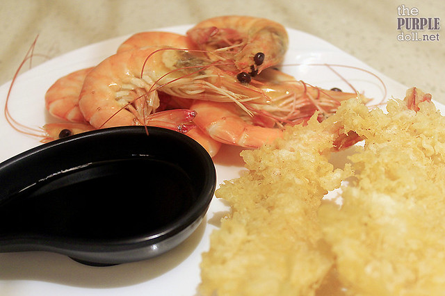 Suahe and Shrimp Tempura