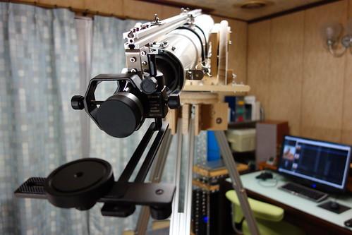 astronomical telescope_32 自作の天体望遠鏡の写真。
