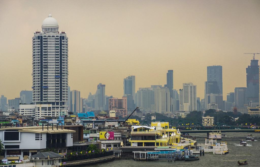 Skyline de Bangkok