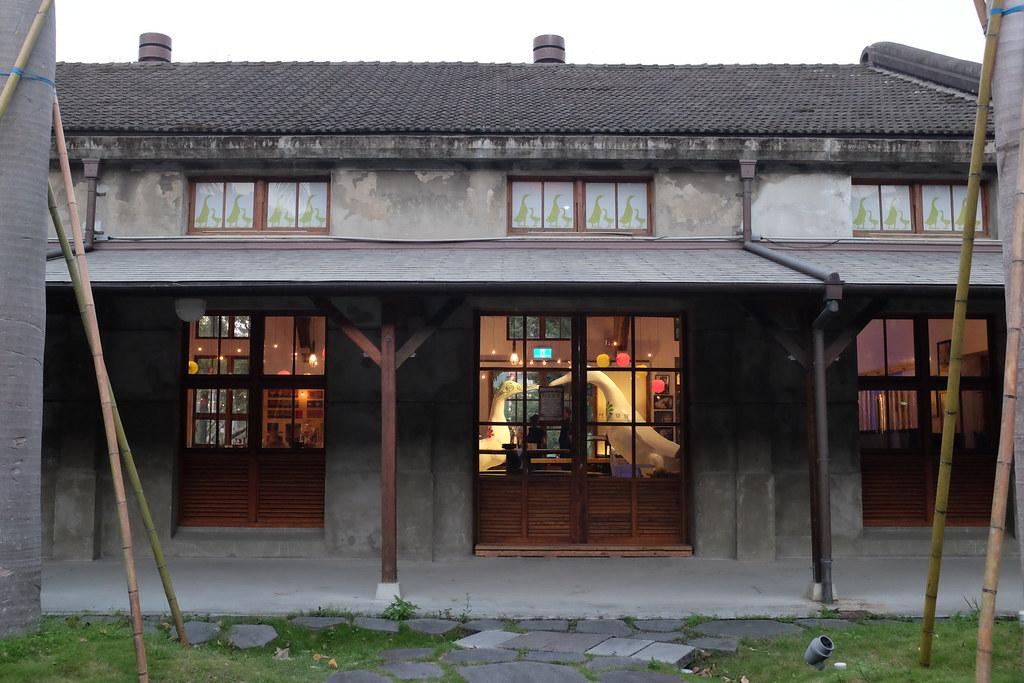 Edificios reciclados de la antigua fábrica de tabaco de Songshan