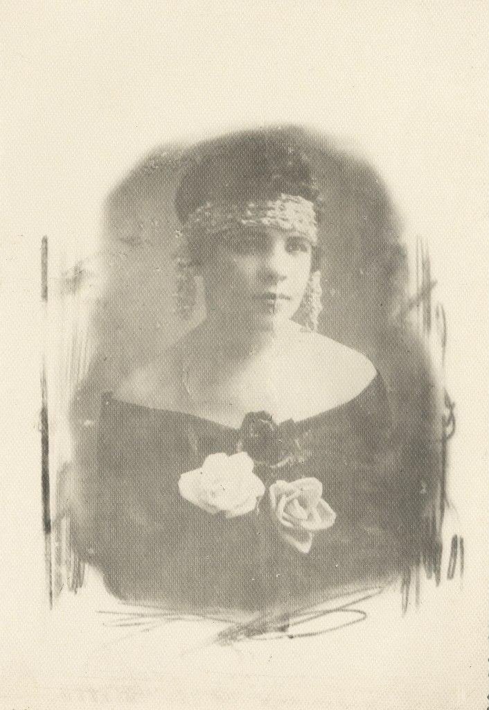 Барановская Юзефа. Варшава. 1924