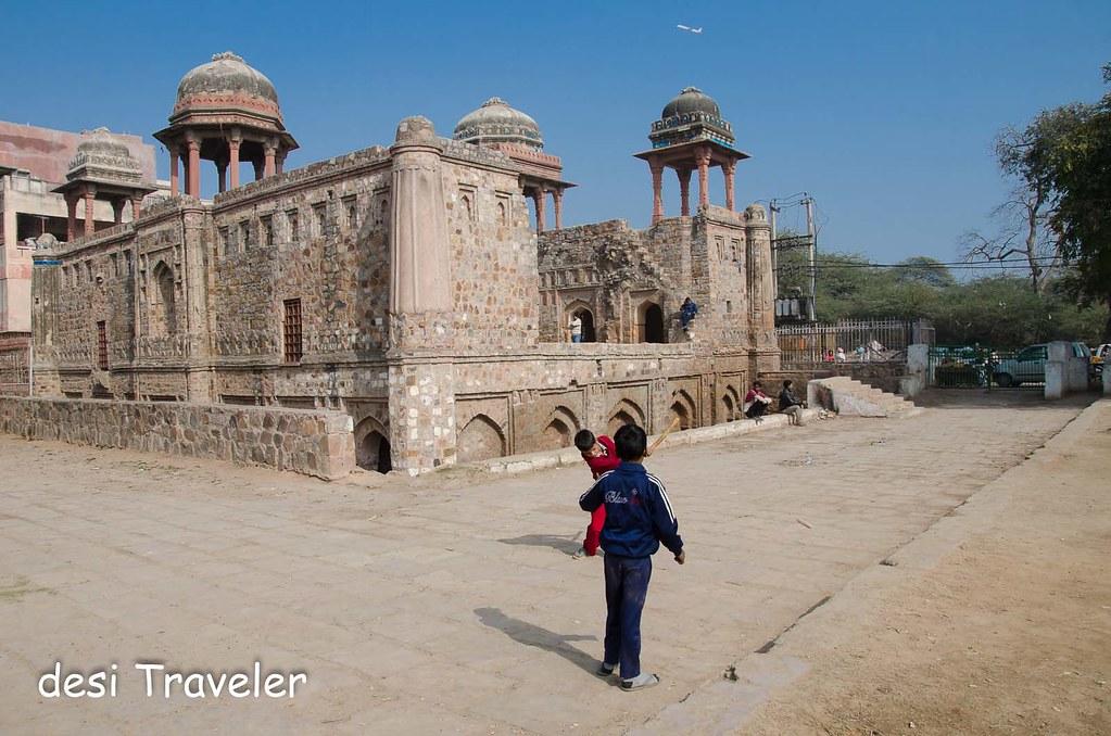 Gilli Danda Kids Delhi Heritage photography