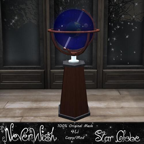 NeverWish Star Globe