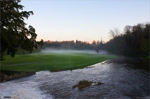 ireland mist river evening dusk maynooth kildare localhistory landscapeshot cartonestate