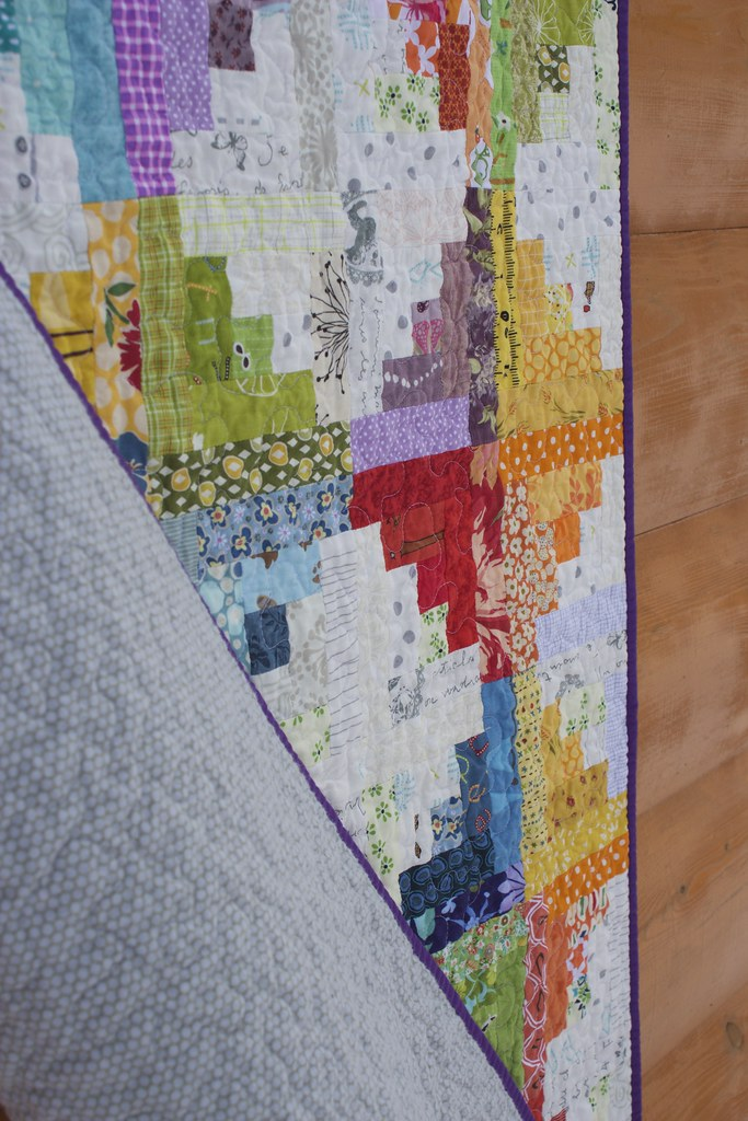 Sunshine and Showers Baby Quilt 2