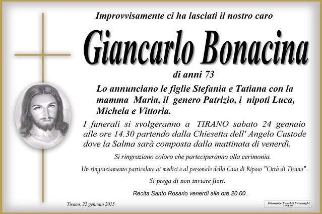 Giancarlo Bonacina