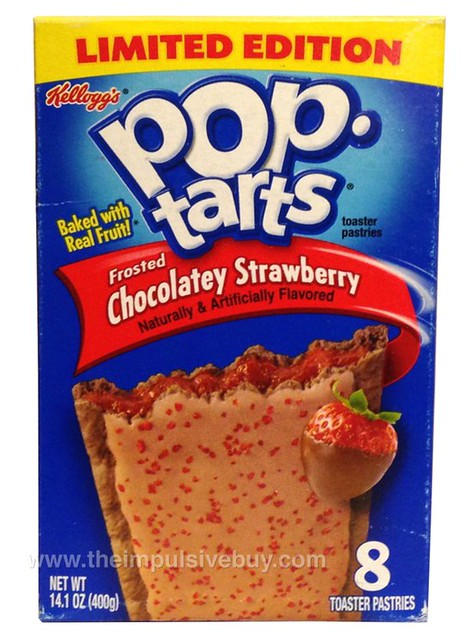 Kellogg's Limited Edition Frosted Chocolatey Strawberry Pop-Tarts
