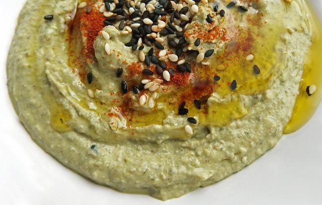 Groen Hummus