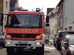Feuer im Abbruchhaus - Einsatzübung - 18.05.2016
