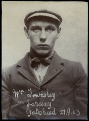 William Townsley, labourer, arrested for stealing jewellery