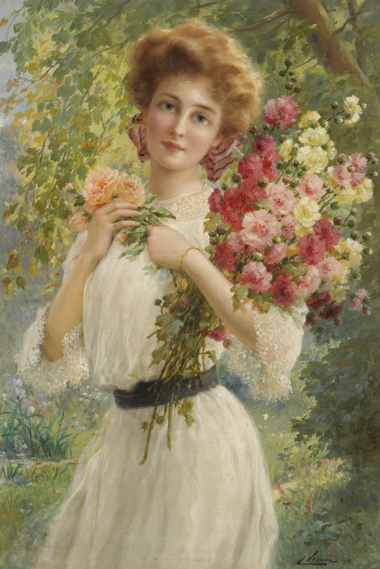 Summer by Emile Vernon - Date unknown