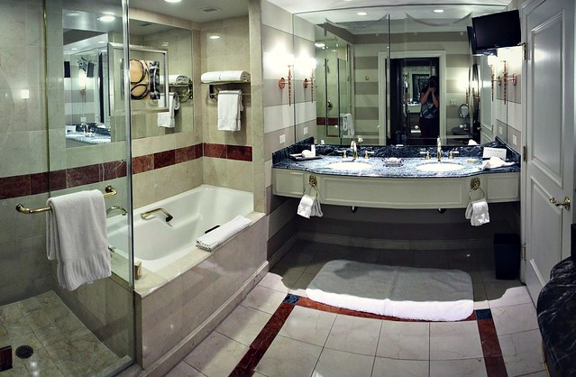 The Venetian hotel bathroom