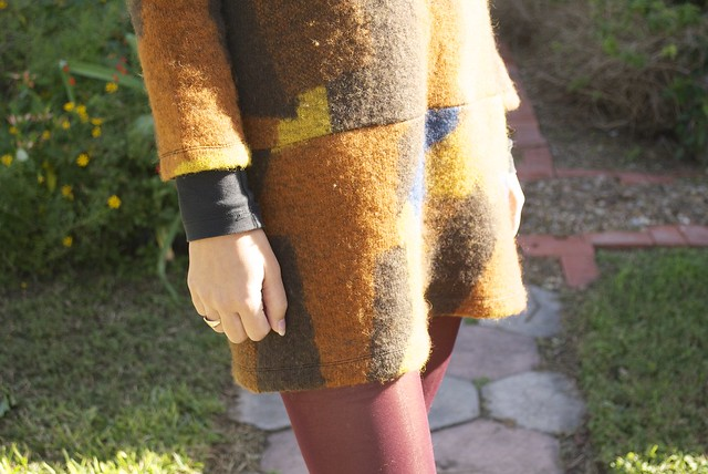 Mood Fabric Wool Sweater Knit Saiph Dress