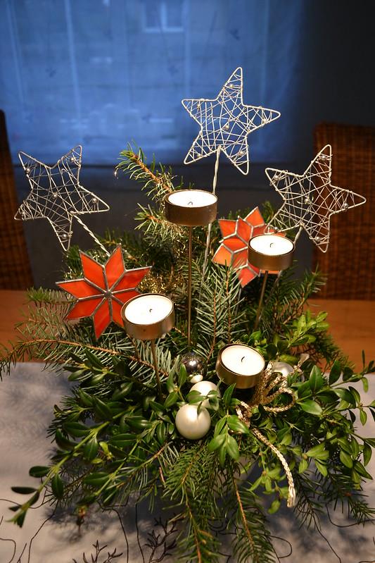 Weihnachtsinspiration  Sternengesteck
