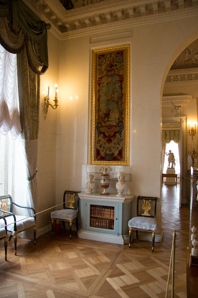 Inside Pavlovsk Palace