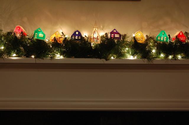 Alpine Village, Traditional Christmas Decorations!