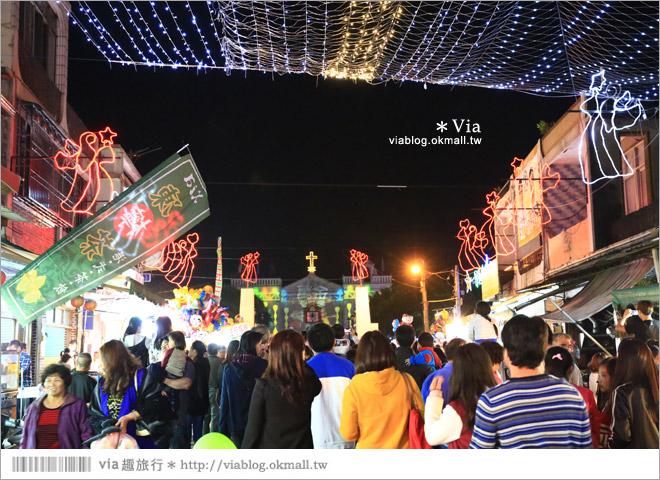【萬金教堂】屏東萬金教堂聖誕季~3D光雕秀+耶誕地景藝術/全台最濃耶味小鎮!2