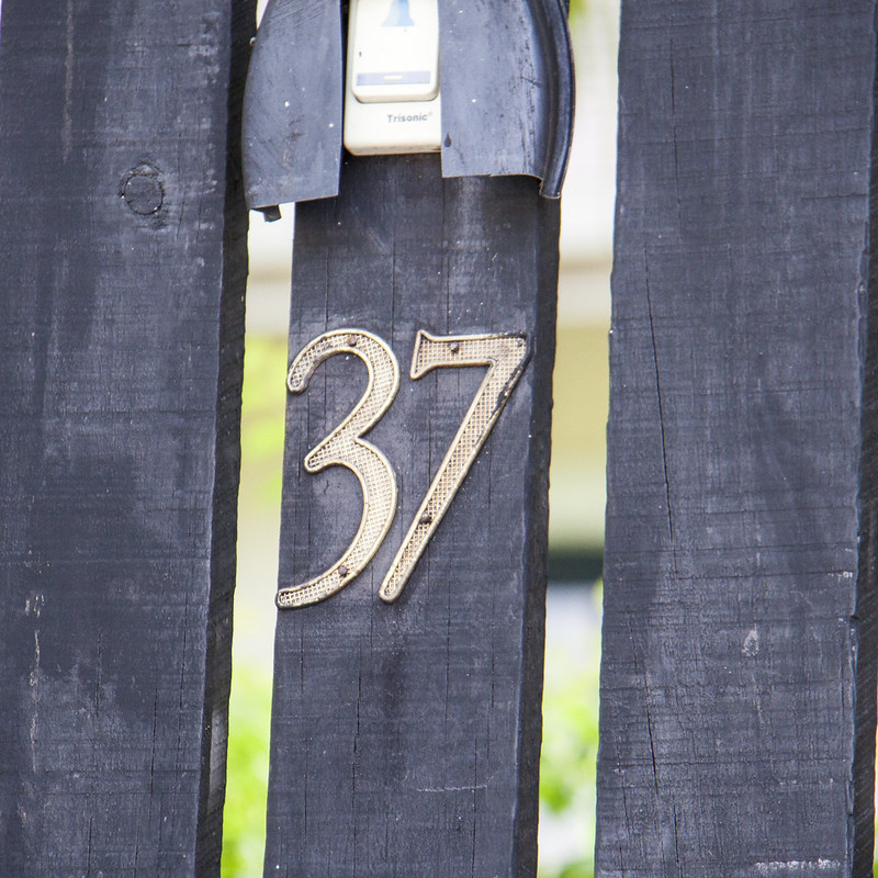 37 House Number