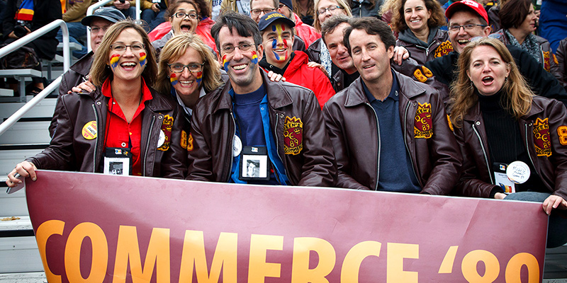 Queen's University was proud to welcome alumni home for the recent Homecoming Weekend celebrations.