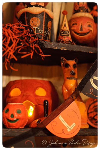 Halloween-Collectiblel-Shelf