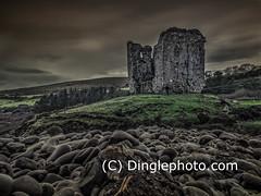 A spooky Castle in the Dingle Peninsula
