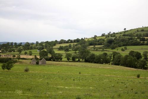 france landscape fields francia lepuyenvelay paesaggio campi gr65 camminodisantiago chemindesaintjacques chemindelepuy